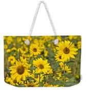 Blooming Sunflower Weekender Tote Bag