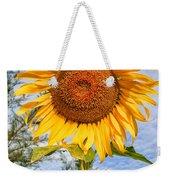 Blooming Sunflower V2 Weekender Tote Bag by Adrian Evans