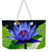 Blooming Water Lily Weekender Tote Bag