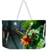 Blooms And Butterfly1 Weekender Tote Bag