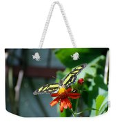 Blooms And Butterfly2 Weekender Tote Bag
