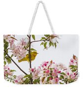 Blossom And Bird Weekender Tote Bag