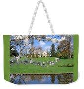 Blossom-framed House Weekender Tote Bag