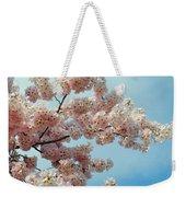 Blossom Sky Weekender Tote Bag