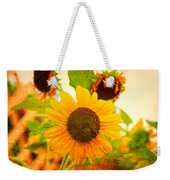 Blossoming Sunflower Beauty Weekender Tote Bag