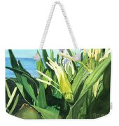 Blossoming Butterfly Ginger Weekender Tote Bag