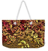 Blossoms And Tree In Yellow And Red Weekender Tote Bag