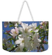 Blossoms On Blue Weekender Tote Bag