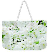 Blossoms Squared Weekender Tote Bag