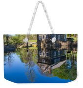 Blow Me Down Mill Cornish New Hampshire Weekender Tote Bag by Edward Fielding