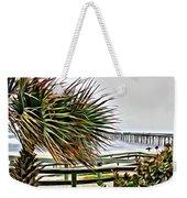 Blowin At The Beach Weekender Tote Bag