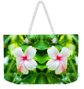 Blowing In The Breeze Mirror Image Weekender Tote Bag