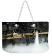 Blowing Of Steam Weekender Tote Bag