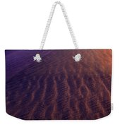 Blowing Sand At Death Valley Weekender Tote Bag