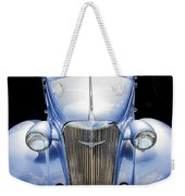 Blue 1937 Chevy Too Weekender Tote Bag