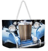 Blue 1953 Mg Weekender Tote Bag