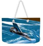 Blue 57 Chevy Bel Air Weekender Tote Bag