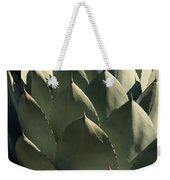 Blue Aloe Weekender Tote Bag