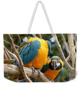 Blue And Gold Macaws Weekender Tote Bag