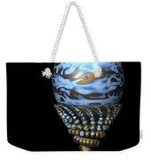 Blue And Golden Egg Weekender Tote Bag