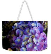 Blue And Purple Hydrangeas Weekender Tote Bag