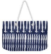 Blue And White Shibori Design Weekender Tote Bag
