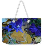 Blue And Yellow Not Making Green Weekender Tote Bag