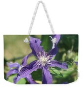 Blue Angel Clematis Close   # Weekender Tote Bag