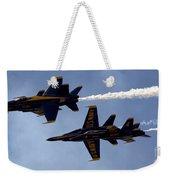 Blue Angel Demonstration Weekender Tote Bag