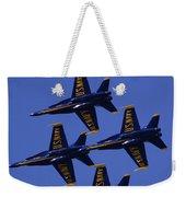 Blue Angels Weekender Tote Bag by Bill Gallagher