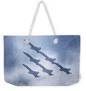 Blue Angels Fa 18 V18 Weekender Tote Bag