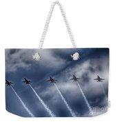 Blue Angels Fa 18 V2 Weekender Tote Bag