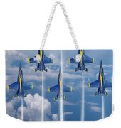 Blue Angels Weekender Tote Bag by J Biggadike