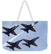 Blue Angels Over Colorado Weekender Tote Bag