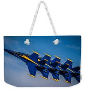 Blue Angels Single File Weekender Tote Bag