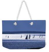 Blue Armada II Weekender Tote Bag
