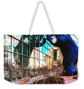 Blue Bear Convention Center 5214 Weekender Tote Bag