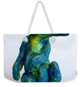 Blue Bear Weekender Tote Bag by Derrick Higgins