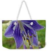 Blue Bell Flower Weekender Tote Bag