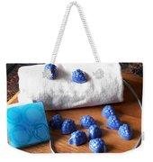 Blue Berries Mini Soaps Weekender Tote Bag