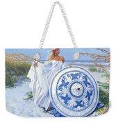 Blue Berry Beach  Weekender Tote Bag