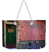 Blue Bicycle Monterosso Italy Dsc02592  Weekender Tote Bag