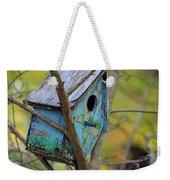 Blue Birdhouse Weekender Tote Bag