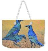Blue Birds Of Happiness Weekender Tote Bag