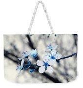 Blue Blossoms Weekender Tote Bag