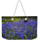 Blue Blue Bells Weekender Tote Bag