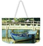 Blue Boat 02 Weekender Tote Bag