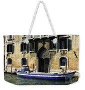 Blue Boat Venice Weekender Tote Bag
