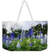 Blue Bonnet Carpet V9 Weekender Tote Bag