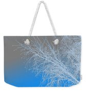 Blue Branches Weekender Tote Bag